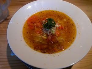 トマト拉麺 温