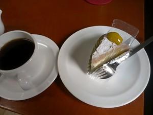 食後のケーキ&ドリンク