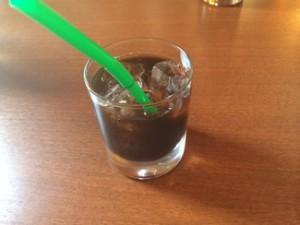 月の下ランチセット コーヒー