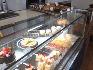 シュエット(Chouette)ケーキのカウンター